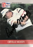 Orville Moody Signed 1990 Pro Set Card