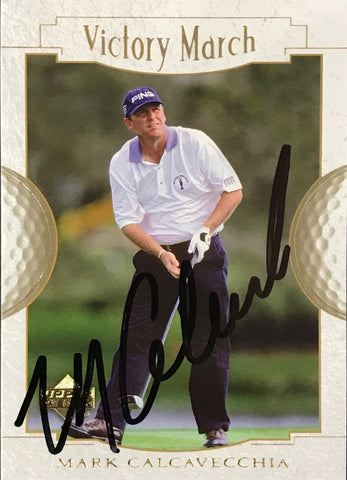 Mark Calcavecchia Singed 2001 Upper Deck Card