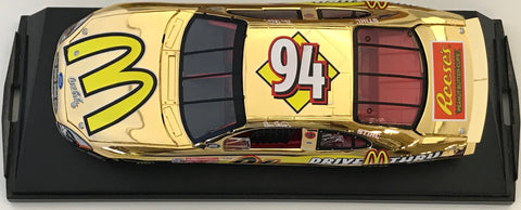 Bill Elliott Unsigned 2000 Taurus 1:24 Scale Die Cast 24KT Car