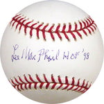 Lee Mac Phail HOF 98Autographed Baseball