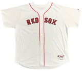 Manny Ramirez Autographed Game Used 2005 Red Sox White Jersey