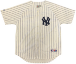 Don Larsen Autographed Authentic New York Yankees Jersey