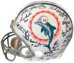 1972 Miami Dolphins Autographed Miami Dolphins Authentic Helmet (JSA)