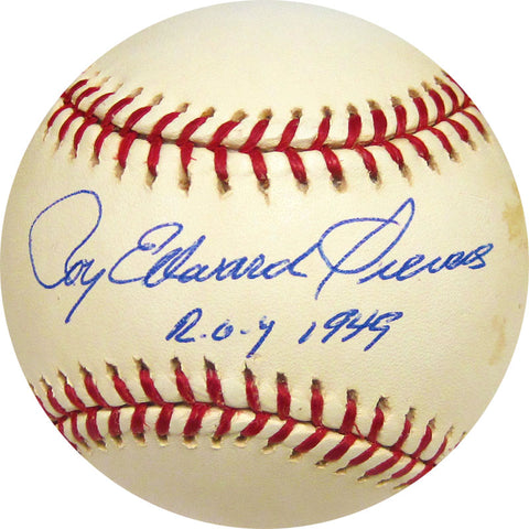 Roy Edward Sievers ROY 1949 Autographed Baseball