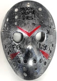 "Ari Lehman Autographed ""Jason Never Dies!"" Jason Voorhees Friday the 13th Mask"
