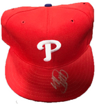 Mike Schmidt Autographed Philadelphia Phillies Hat (JSA)