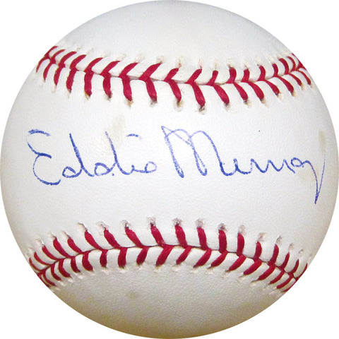 Eddie Murray Autographed Baseball