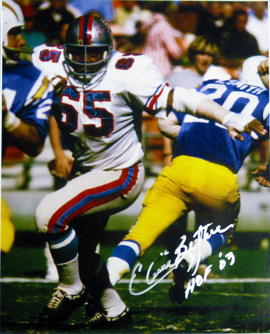 Elvin Bethea Autographed 16x20 Photo