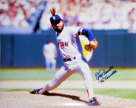 Jeff Reardon The Terminator Autographed 16x20 Photo