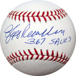 Jeff Reardon 367 Saves Autographed Baseball