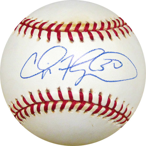 Cliff Floyd Autographed Baseball