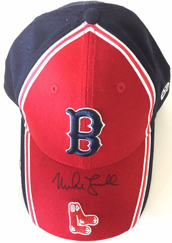 Mike Lowell Autographed Baseball Cap