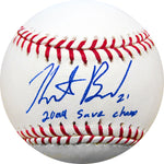 Heath Bell 2004 Saves Champ Autographed Baseball