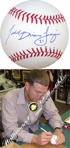 Todd Brian Frazier Autographed Baseball