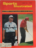 Billy Casper Autographed  Sports Illustrated - February 7 1966