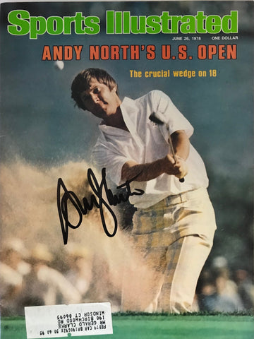 Andy North Signed Sports Illustrated June 26 1978