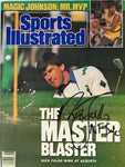 Nick Faldo Signed Sports Illustrated April 17 1989