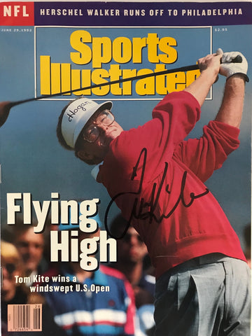 Tom Kite Signed Sports Illustrated - June 29 1992