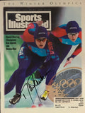 Dan Jansen Signed Sports Illustrated February 28 1994