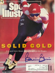 Bonnie Blair Signed Sports Illustrated Magazine February 24 1992