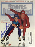 Bonnie Blair Signed Sports Illustrated Magazine December 19 1994