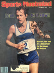 Bill Rodgers Autographed Sports Illustrated October 29 1979