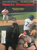 Brooks Robinson Signed Sports Illustrated Magazine Cover - October 20 1969