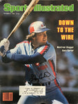 Gary Carter Signed Sports Illustrated - October 6 1980