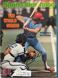 Mike Schmidt Signed Sports Illustrated - October 27 1980
