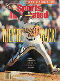 Dennis Eckersley Signed Sports Illustrated - October 22 1990
