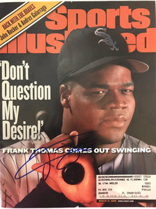 Frank Thomas Signed Sports Illustrated Magazine - March 13 2000