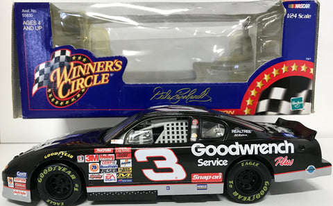 Dale Earnhardt Unsigned #3 1997 1:24 Scale Die Cast Car