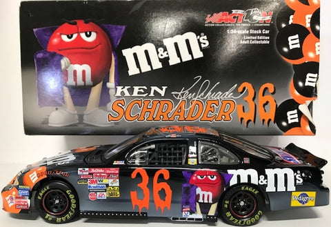 Ken Schrader Unsigned #36 2002 1:24 Scale Die Cast Stock Car