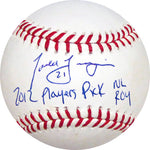 "Todd Frazier ""2012 Players Pick NL ROY"" Autographed Baseball"