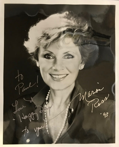 Marion Ross Autographed Black & White 8x10 Photo