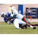 Brandon Harris Autographed / Signed Miami Hurricanes vs Duke 8x10 Photo