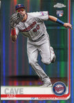 Jake Cave 2019 Topps Chrome Refractor Rookie Card #161