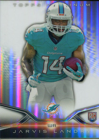 Jarvis Landry Unsigned 2014 Topps Platinum Rookie Card