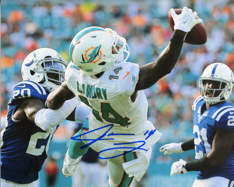 Jarvis Landry Autographed The Catch 8x10 Photo
