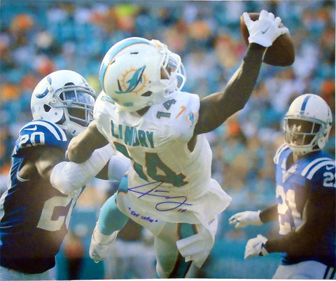 Jarvis Landry The Catch Autographed 16x20  Photo