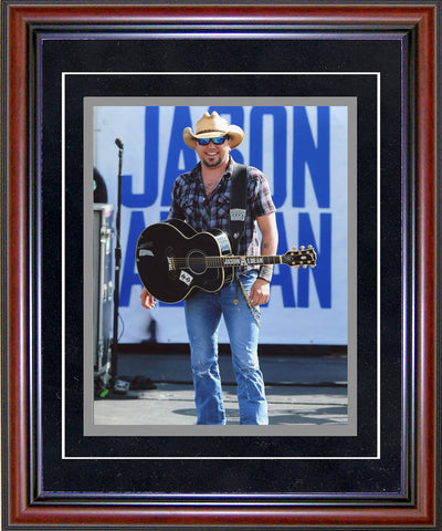 Jason Aldean Unsigned Framed 8x10 Photo
