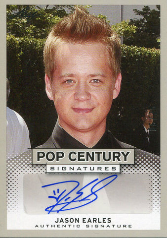Jason Earles Autographed 2013 Leaf Card