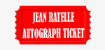 Jean Ratelle Hockey Puck Pre-Order Autograph Ticket