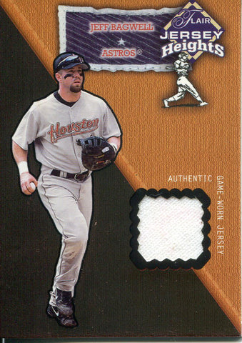 Jeff Bagwell 2002 Fleer Jersey Card
