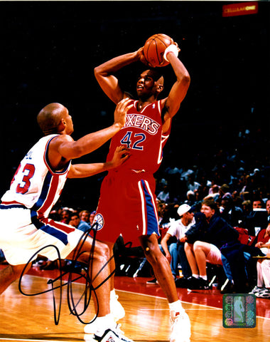 Jerry Stackhouse Autographed 8x10 Photo