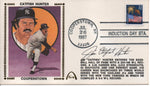 Jim Catfish Hunter Autographed July 28, 1987 First Day Cover (JSA)
