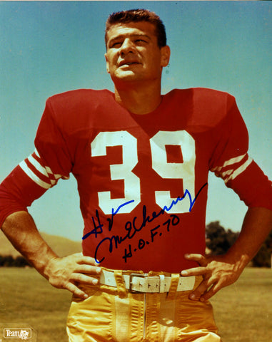 Hugh McElhenny Autographed 8x10 Photo