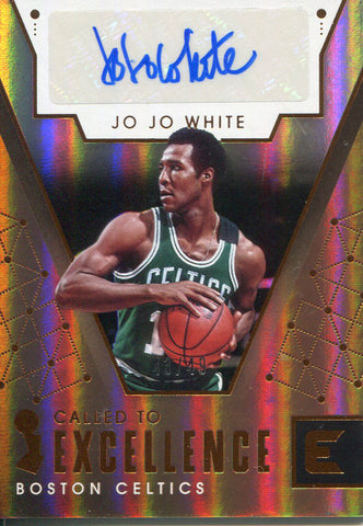 Jo Jo White Autographed 2017-18 Panini Essentials Card
