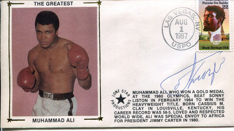 Joe Frazier Autographed Gateway First Day Cover