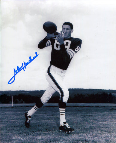 John Havlicek Autographed 8x10 Football Photo